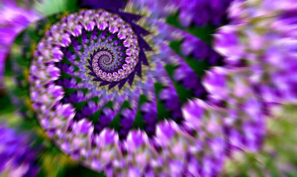 imágenes fotos fotografías creativas de fractales, espirales,