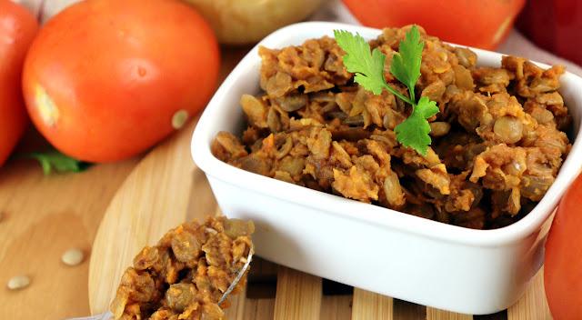 Fiz carne de lentilha mais barata que carne e rica em proteína! Mais saudável e vegana