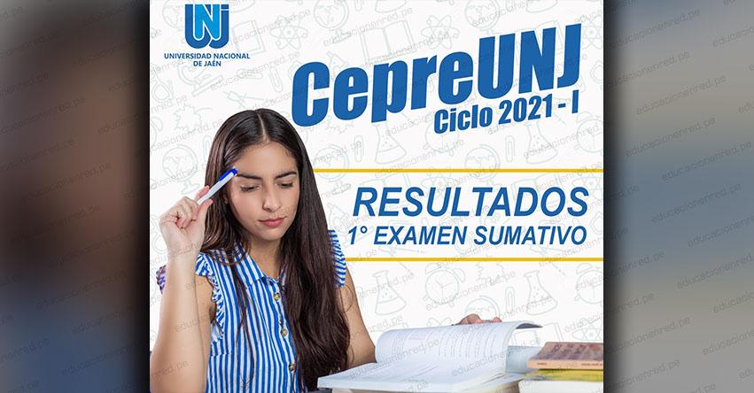 Resultados CEPRE UNJ 2021-1 (Domingo 20 Diciembre 2020) Lista Ingresantes - Primer Examen Sumativo - Universidad Nacional de Jaén - www.unj.edu.pe
