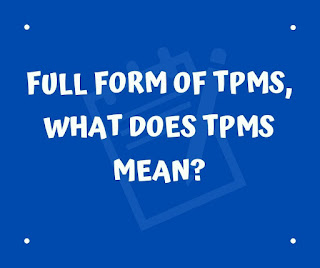 Full form of TPMS