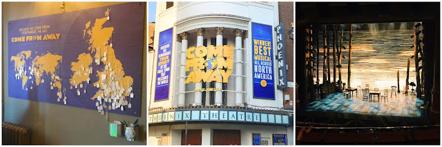 Come From Away collage
