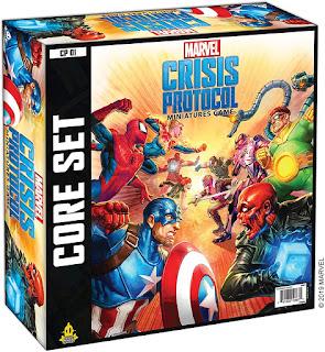 Marvel Crisis Protocol Core Set board game