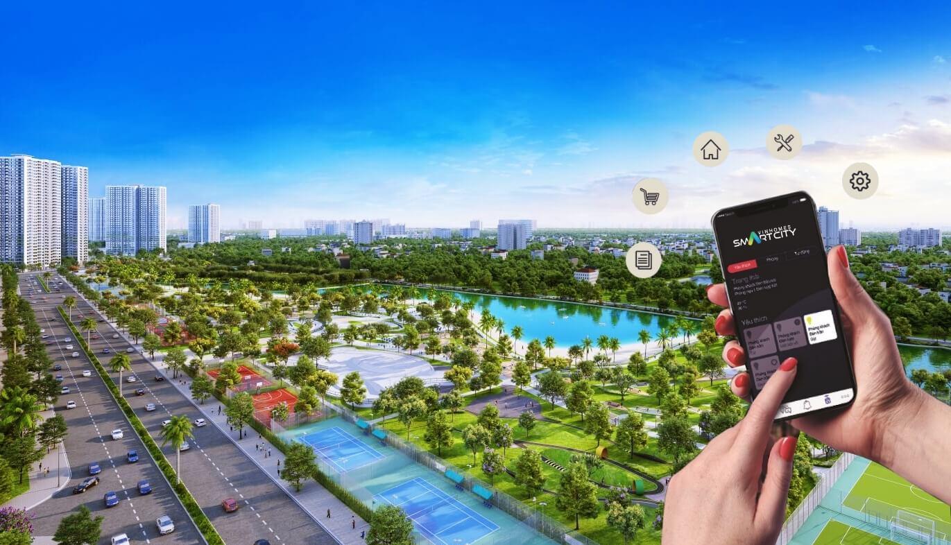 Đô thị thông minh Vinhomes Smart City Tây Mỗ