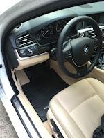 Thảm lót sàn ô tô BMW Seri 5 Lái