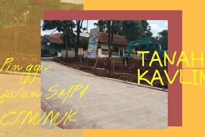Tanah kavling bisa dicicil pinggir jalan SMP 1 Cinunuk Bandung Timur