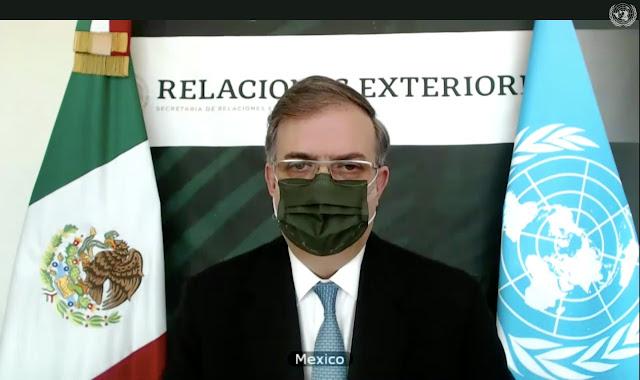 Mexico llama al Consejo de Seguridad de la ONU a garantizar el acceso a vacunas contra COVID-19