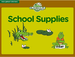 http://www.eslgamesplus.com/school-supplies-esl-interactive-vocabulary-crocodile-board-game/