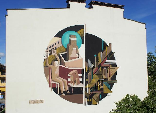 Street Art Collaboration By Jacyndol And Seikon In Gdynia, Poland. 2