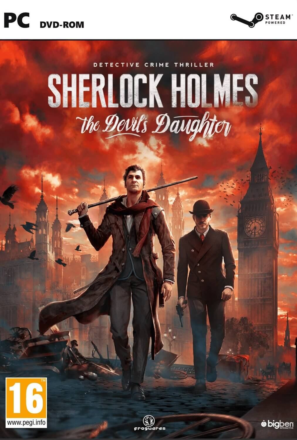 Sherlock Holmes The Devils Daughter ESPAÑOL PC