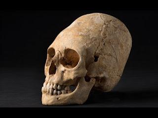 Annunaki skull