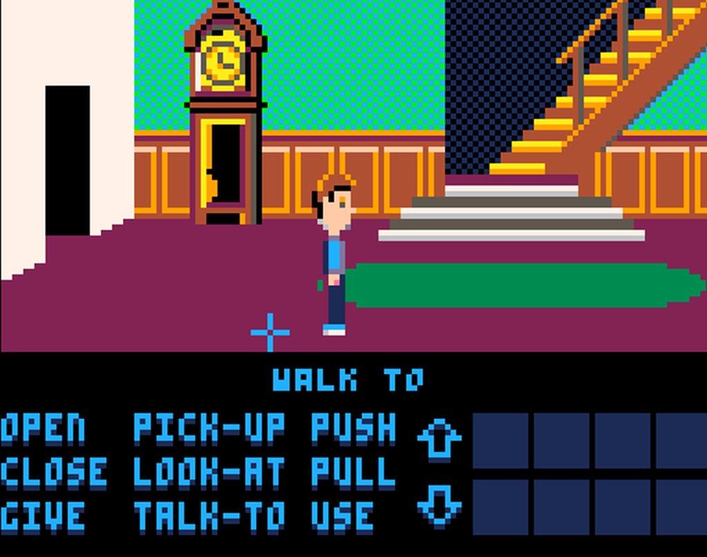 Indie Retro News: SCUMM-8 - Adventure classic Maniac Mansion