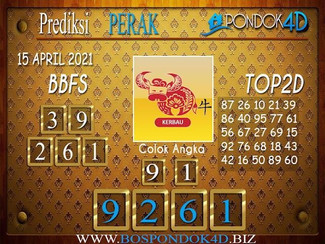 Prediksi Togel PERAK PONDOK4D 15 APRIL 2021
