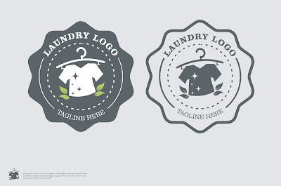 Logo laundry unik