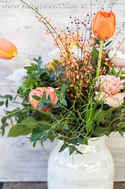 Blumenstrauß zum Valentinstag