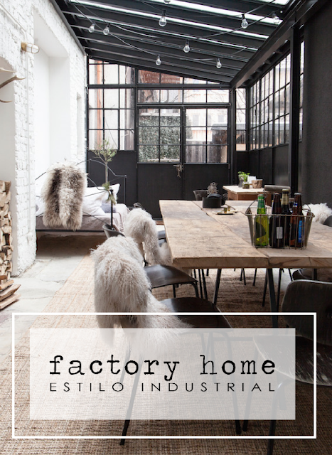 Estilo industrial en una factory home by Habitan2