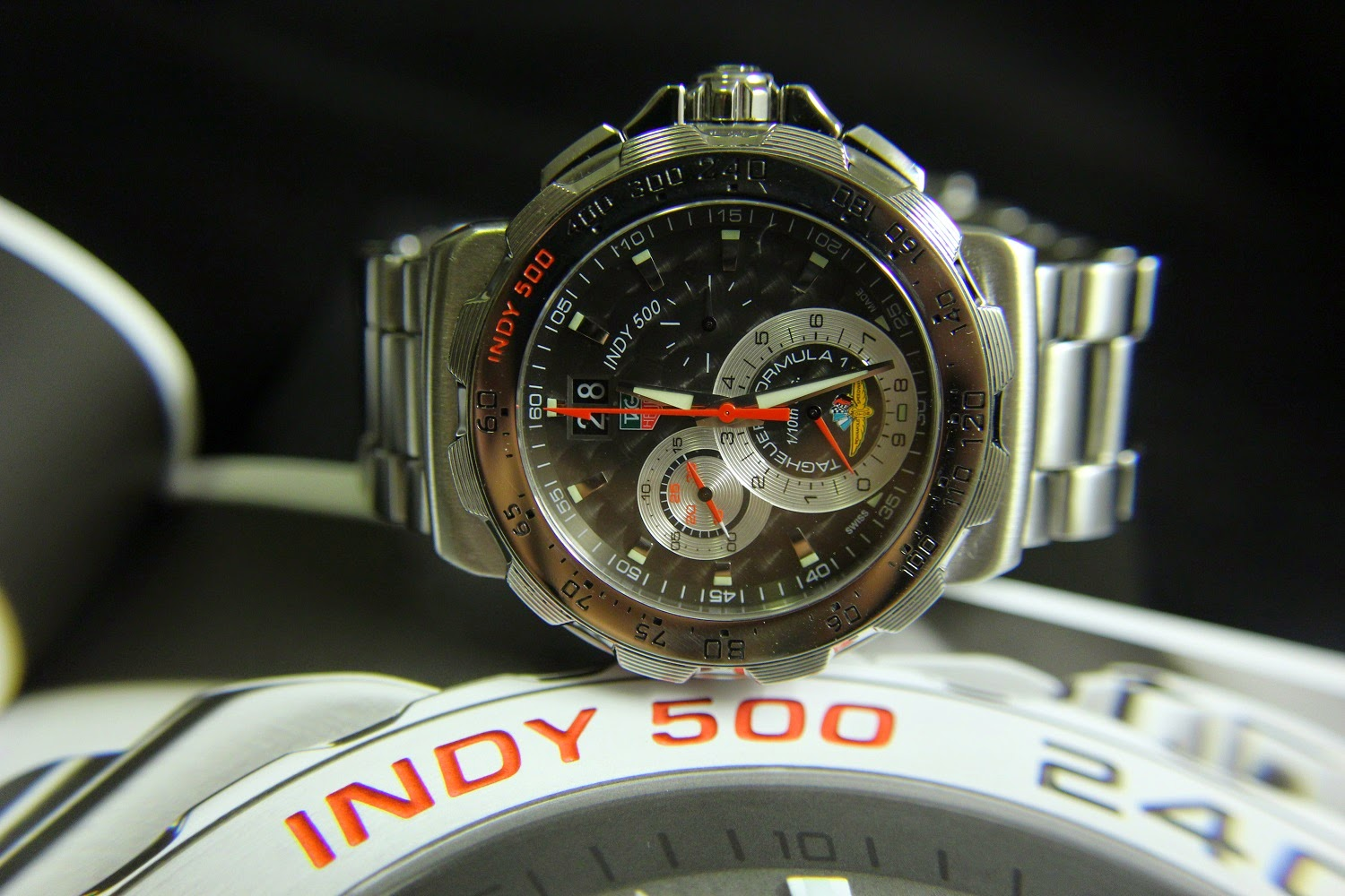 SOLD] TAG HEUER FORMULA 1 INDY 500 GRANDE DATE CHRONOGRAPH - Lapak