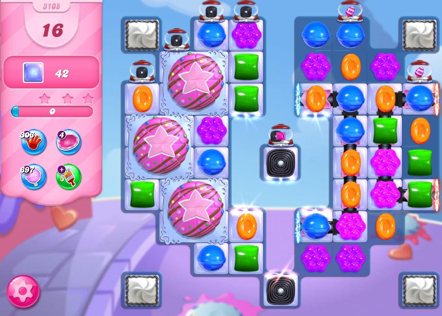 Candy Crush Saga level 3108