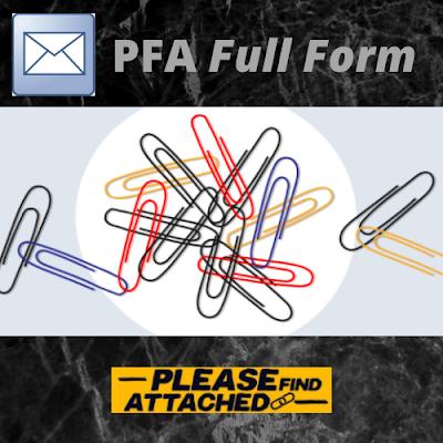 PFA Full Form