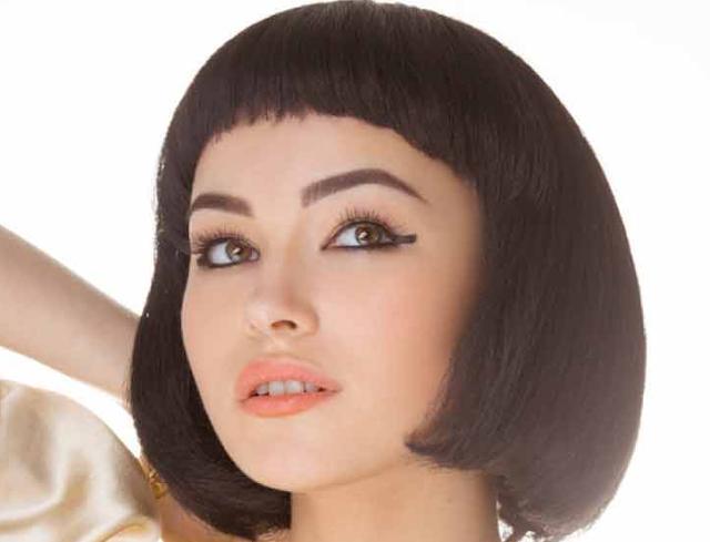 Model Rambut Wanita Wajah Bulat Double Pigtails