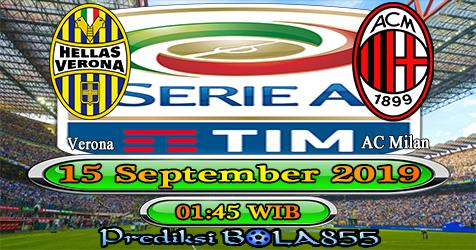 Prediksi Bola855 Verona vs AC Milan 16 September 2019