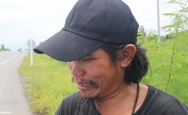 Таец преодолел 1500 км ради прощания с погибшей любимой