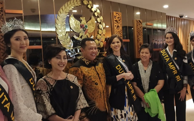 Gagal Lafalkan Pancasila di Pemilihan Putri Indonesia, Kalista Ditunjuk Jadi Duta MPR RI
