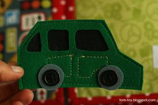 car quiet book