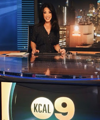 Sharon Tay reporting the news