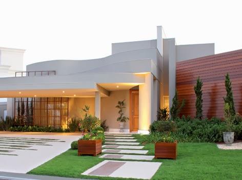 Architecture of dream casas luxuosas for Cores modernas para fachadas de casas 2016