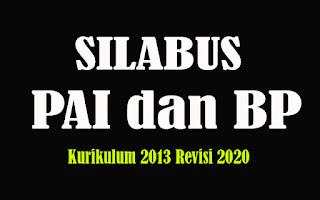 Silabus PAI dan BP SMA K13 Revisi 2018, Silabus PAI dan BP SMA Kurikulum 2013 Revisi 2020