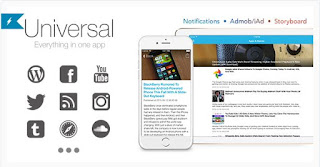Download Universal for IOS v2.2- Full Multi-Purpose IOS app