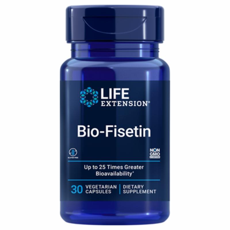 Life Extension, Bio-Fisetin, 60 вегетарианских капсул
