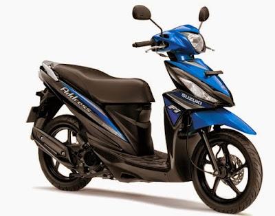 Spesifikasi Suzuki Address FI dan Harga Terbaru 2016