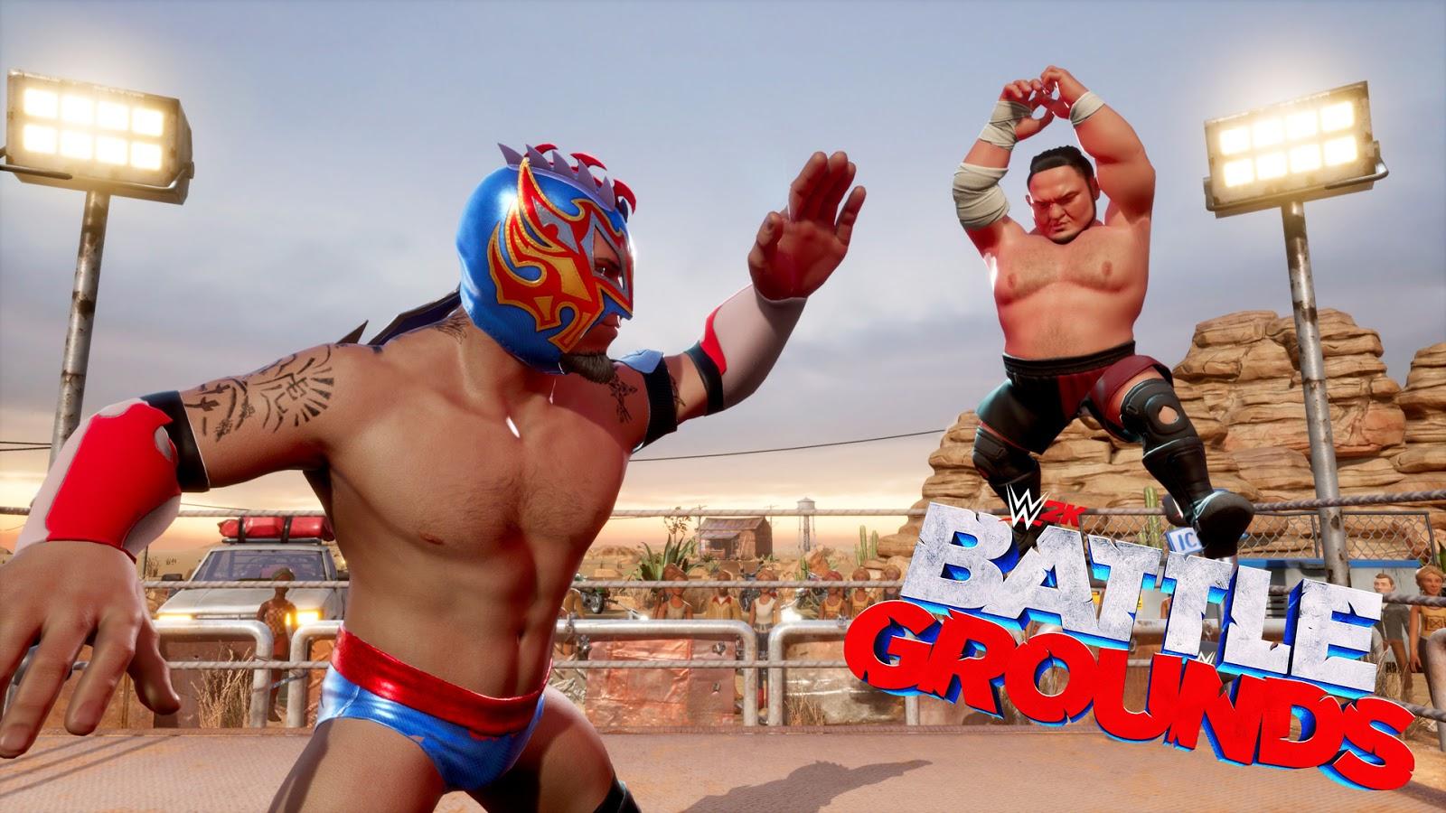 WWE 2K Battlegrounds terá várias atualizações gratuitas