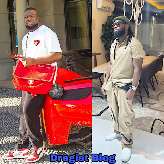 Hushpuppi And Timaya Fights Dirty On Instagram