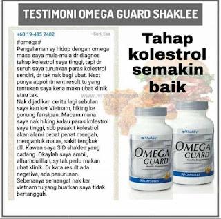 Testimoni Omega Guard Shaklee Untuk Kanak-kanak dan Kurus