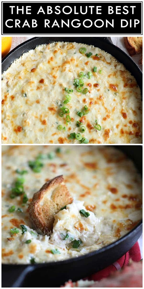 Crab Rangoon Dip #appetizerrecipes