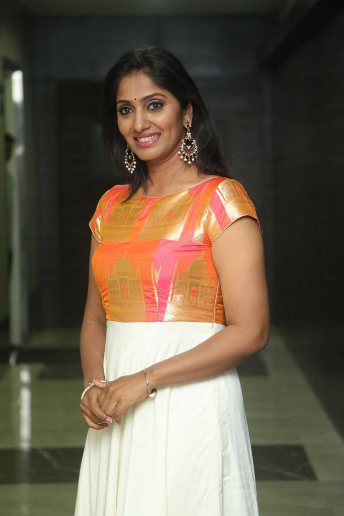Actress Jhansi At LIE Pre Release Function Stills