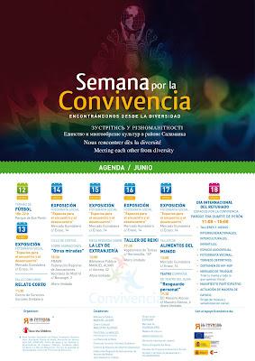 Semana por la Convivencia en el distrito Salamanca