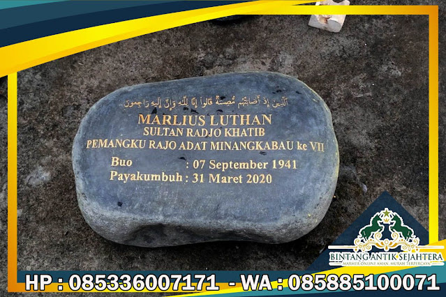 Nisan Batu Alam, Nisan Batu Kali, Model Batu Nisan Batu Alam