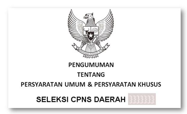 Syarat Pendaftaran CPNS Yang Akan Dibuka Pada 25 Oktober tahun 2019