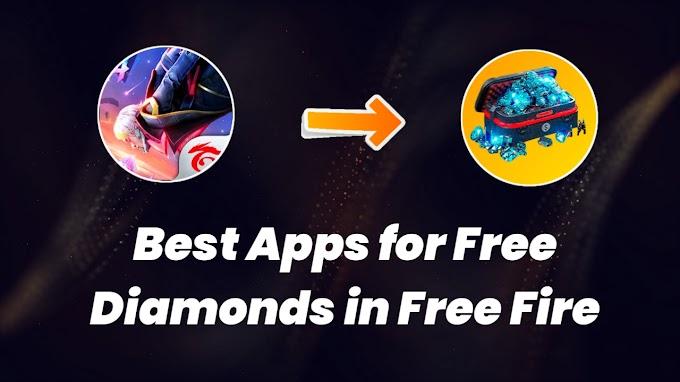 Top 5 Best App For Free Diamonds in Free Fire