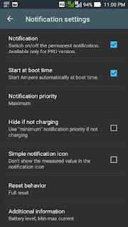 Artsoulinc cara setting aplikasi ampere notifikasi