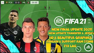 Download FTS Mod FIFA 21 Final Season Update Fix All League Transfer Januari & Best Graphics HD