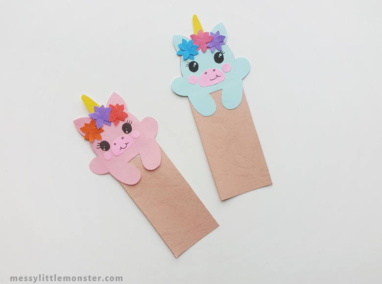 paper bookmark craft for kids