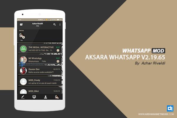 Aksara Whatsapp V2.19.65 By Azhar Rivaldi