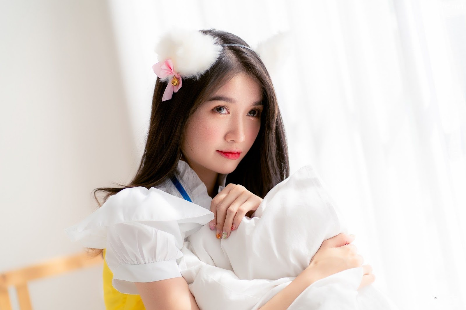 Image Thailand Model - Yatawee Limsiripothong - Cute Maid - TruePic.net - Picture-10