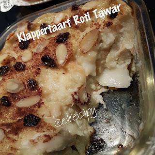 Klappertaart Roti Tawar