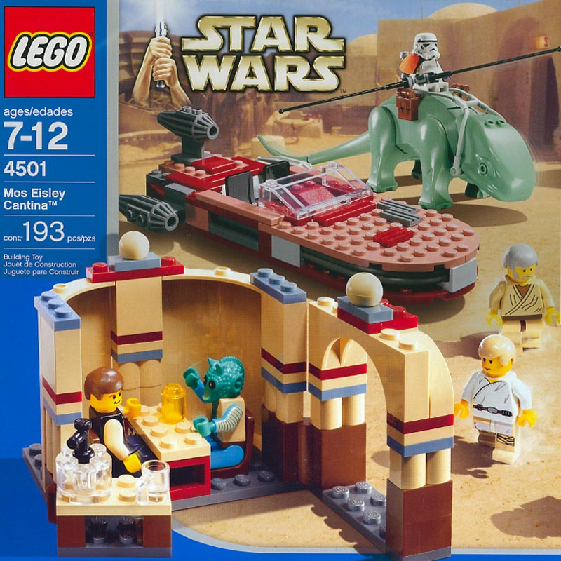 My Brick Store: Imitation of LEGO Star Wars Dewback with Sandtrooper ...