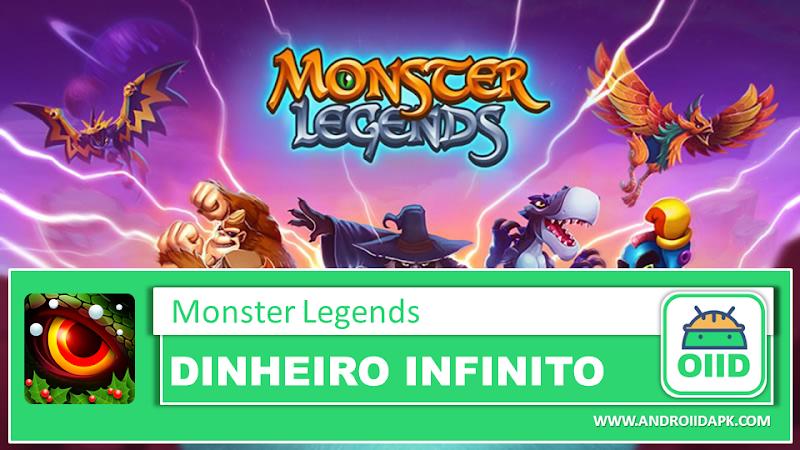 Monster Legends – RPG – APK MOD HACK – Dinheiro Infinito
